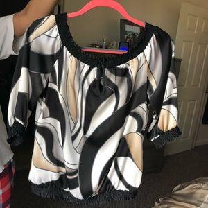 WHBM Silk Blouse